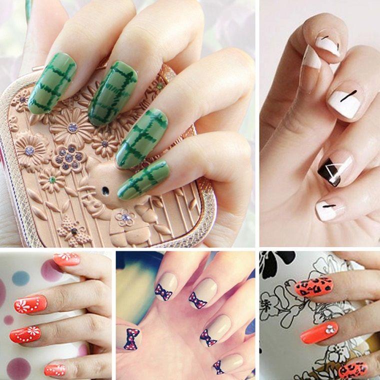 Unghie Gel Nail Art Idee Estate Unghie Summer Nails Nail Art
