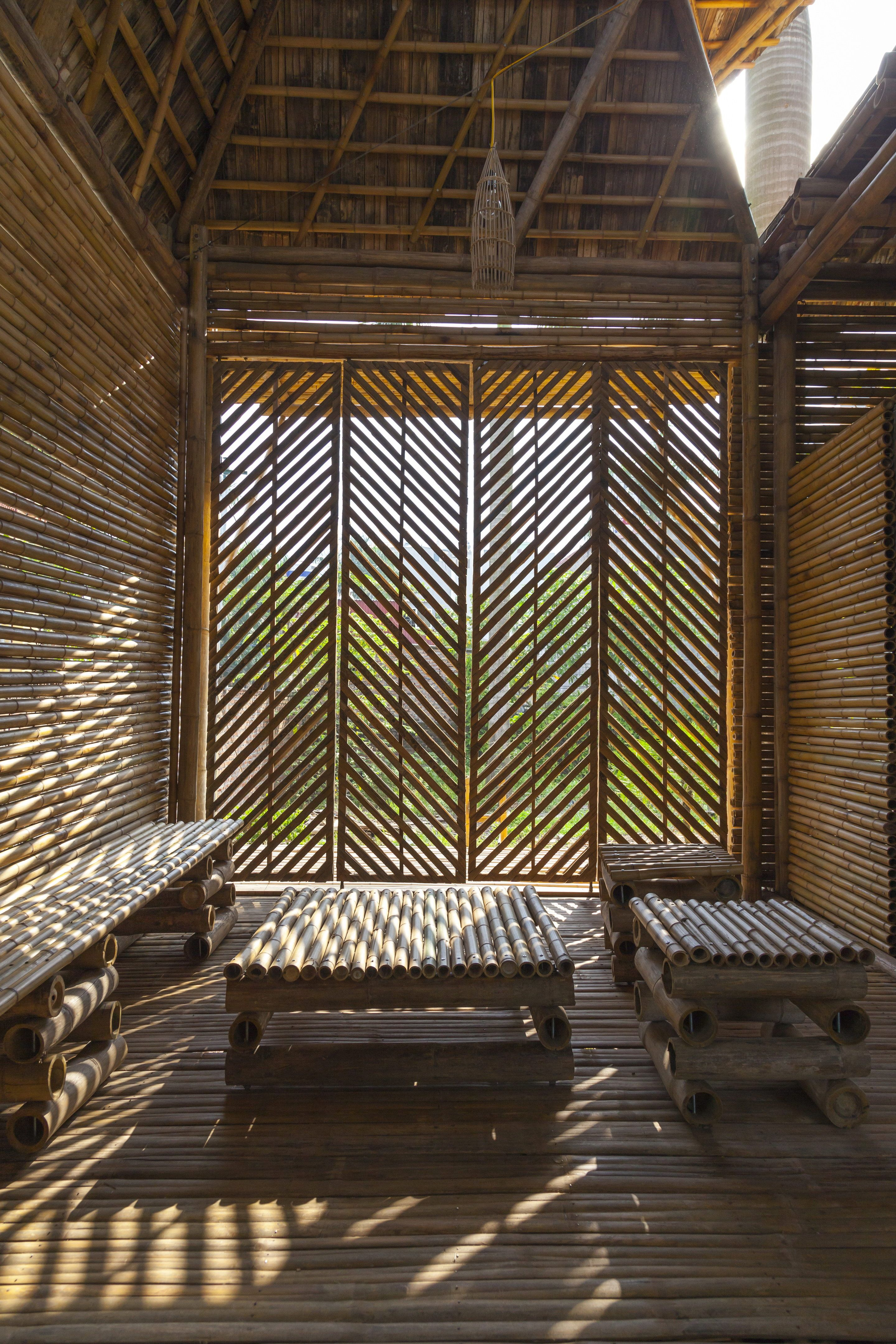 Blooming Bamboo Home By H Amp P Architects Bamboo Building