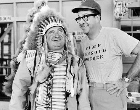 Photo The Phil Silvers Show 10x8in Indian chief