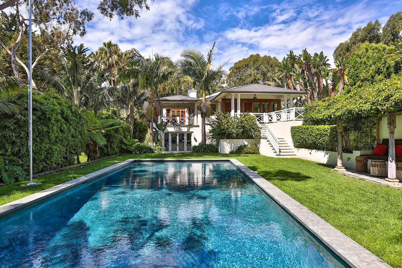 Chris Rock S Balinese Inspired House 28830 Bison Court
