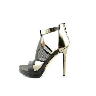 16220040a SAM EDELMAN Sam Edelman Roma Womens Open Toe Leather Platforms Heels Shoes 4