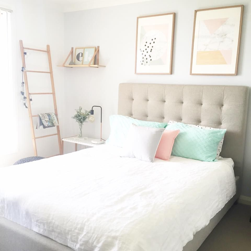 Master Bedroom Oasis a serious kmart lover! this master bedroom is a little oasis