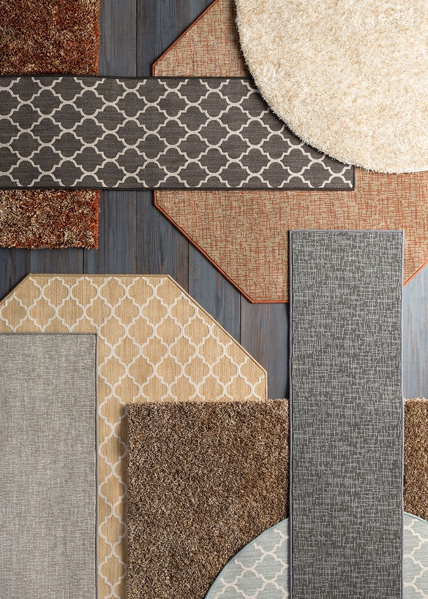 With Surya's Cut and Sew Rug Program, you can select from 150+ fashion forward options and specify a rug in any size or shape!