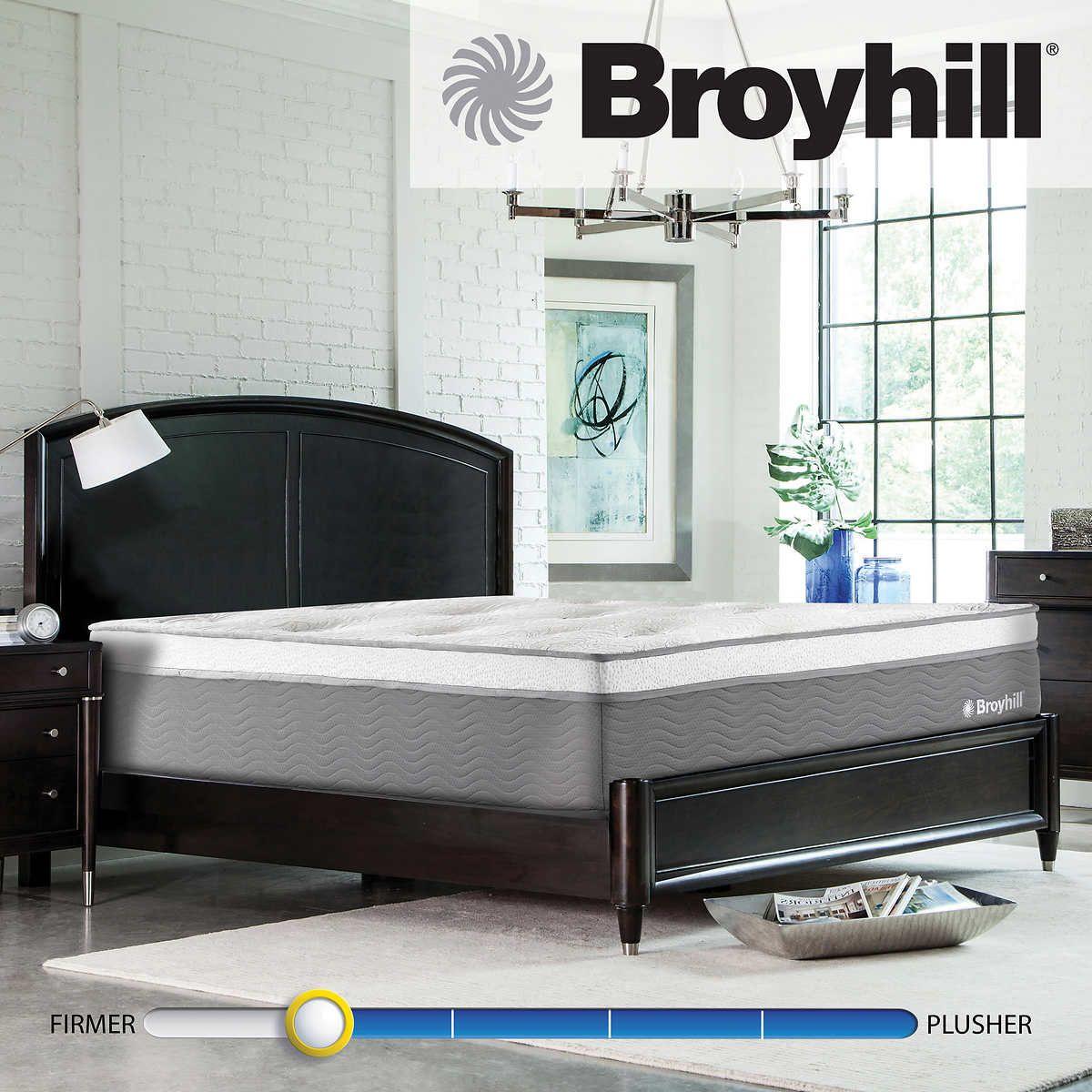 "Broyhill Bristol 14"" King Gel Memory Foam Hybrid Mattress"