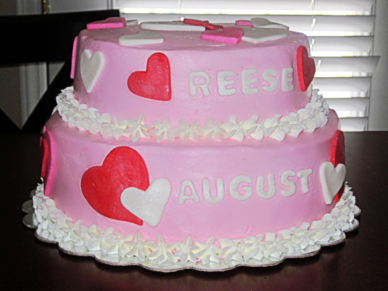 Valentines Birthday Cake Have A Piece Of Cake Valentines Theme