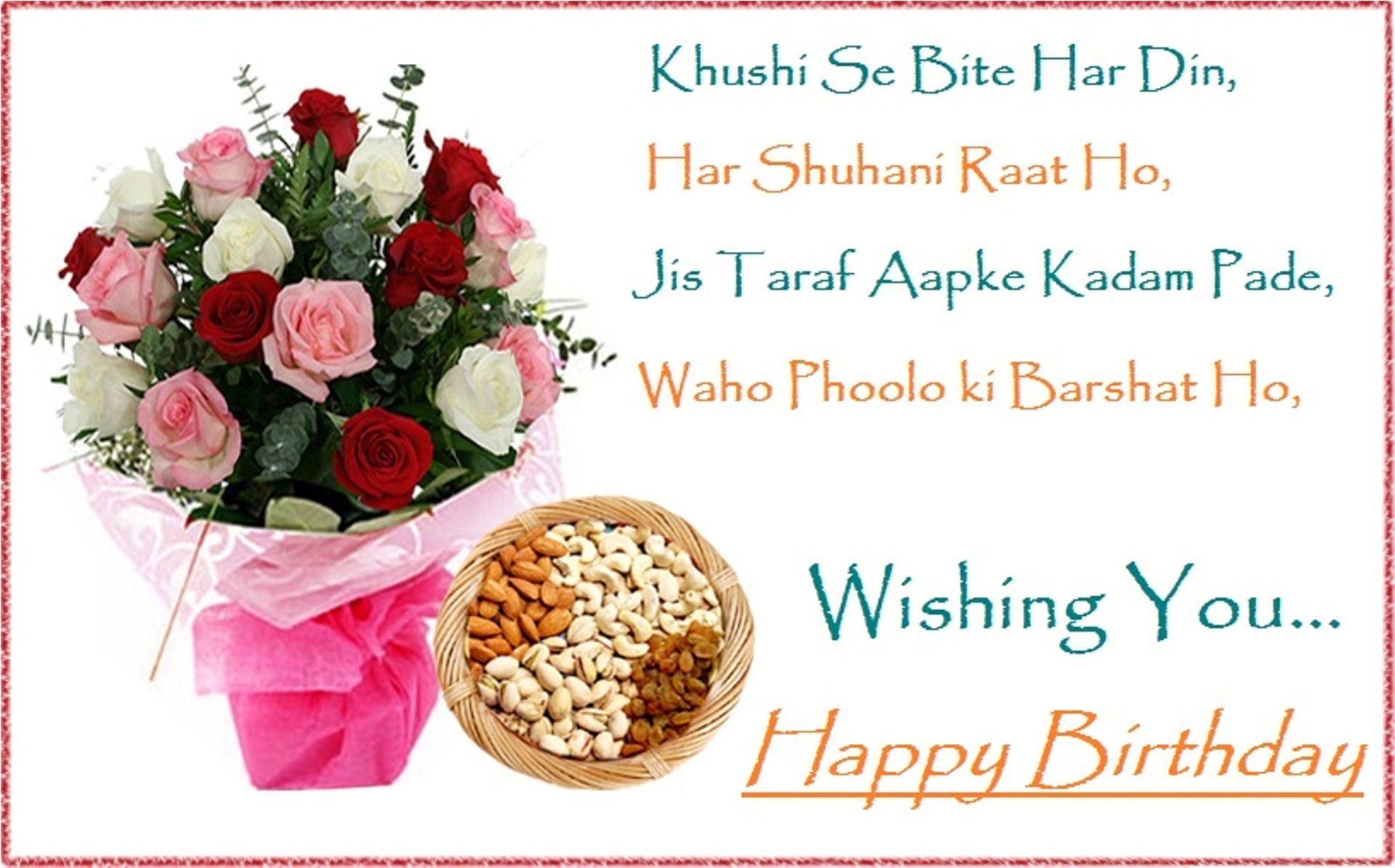 Happy Birthday Wishes Wallpaper Free Download | Places to Visit ...