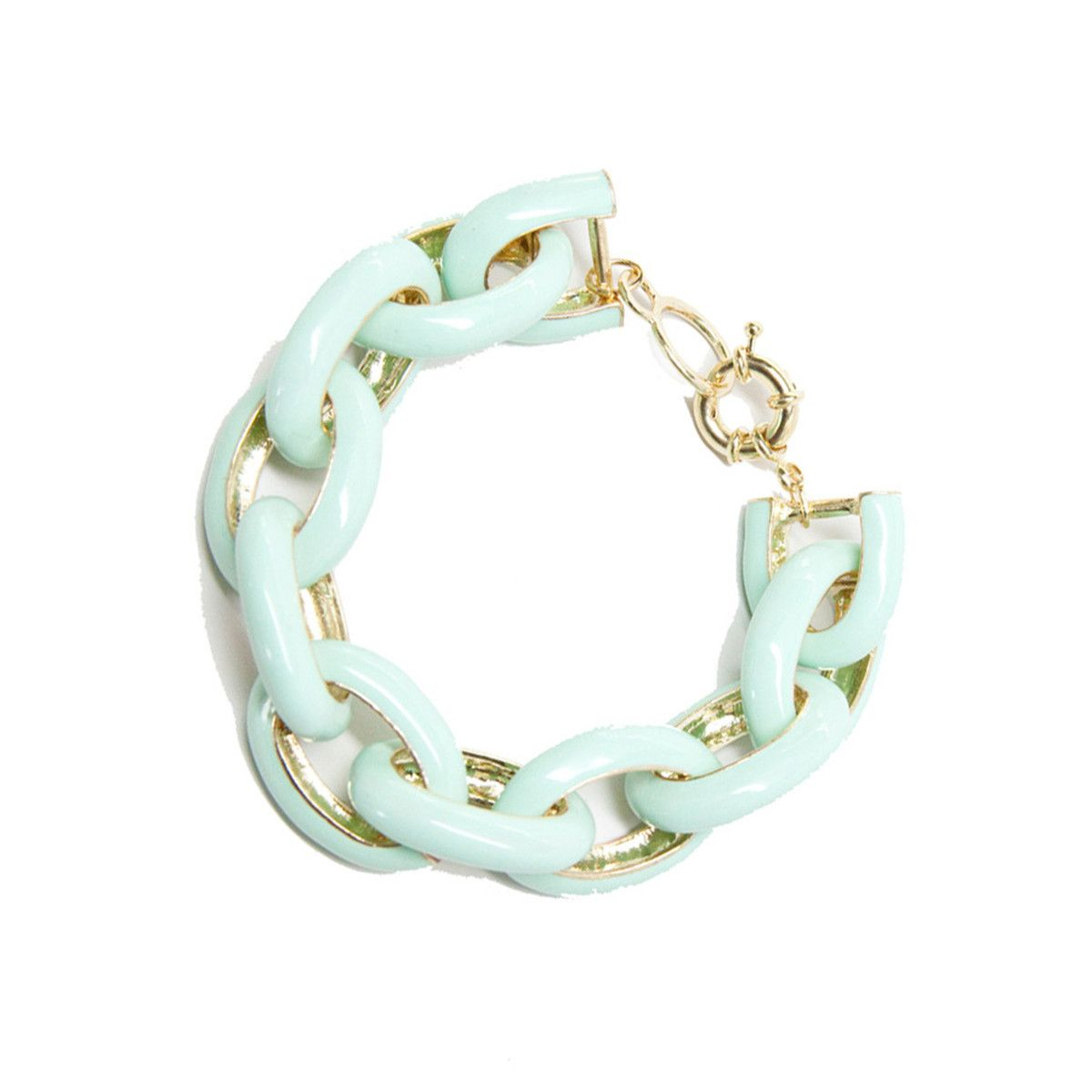 Mint link bracelet needful things pinterest bracelets mint