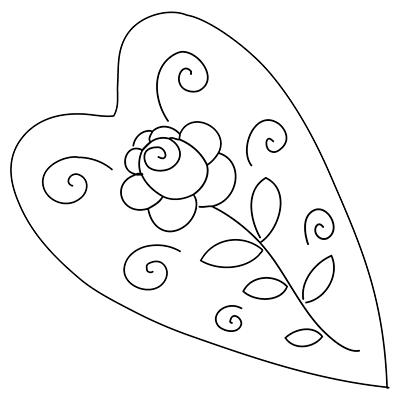 Window Color Marabu Malvorlagen Herz Mit Rose Malvorlagen Vorlagen Wenn Du Mal Buch
