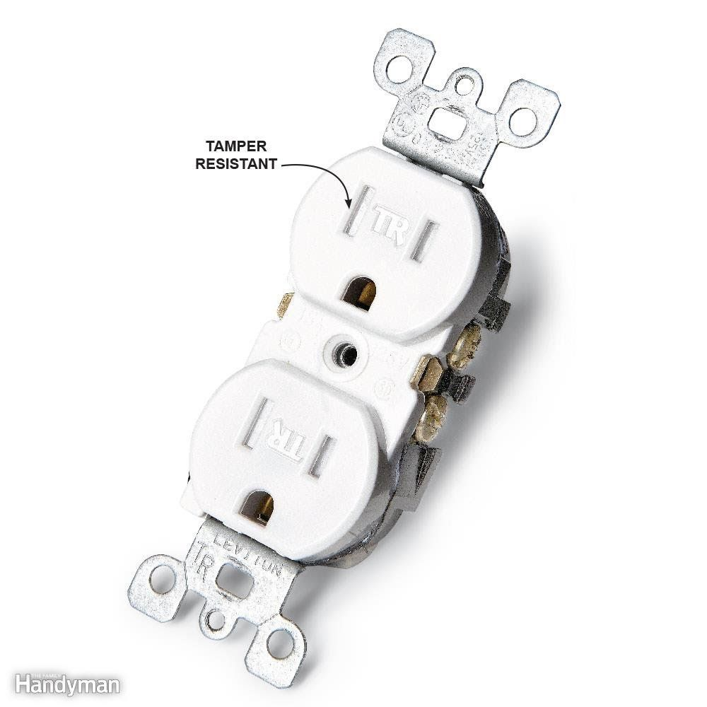 Don\'t Forget Tamper-Resistant Receptacles | Electrical engineering ...