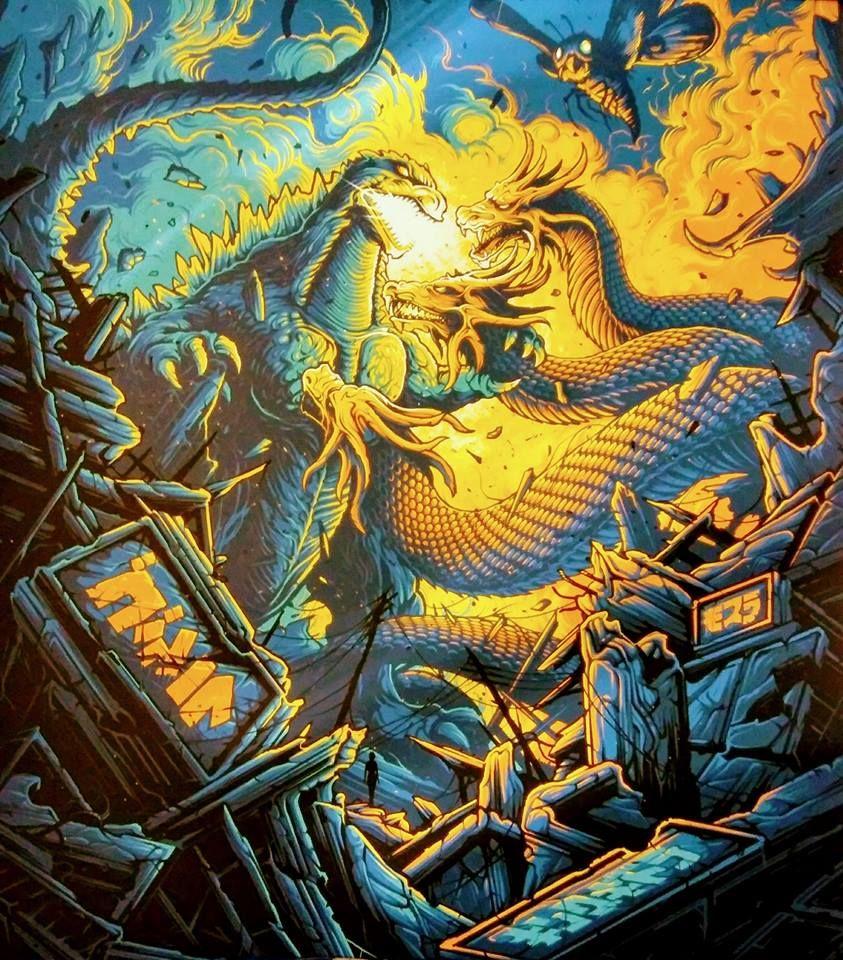 Godzilla vs King Ghidorah   Godzilla   Pinterest   Godzilla ...