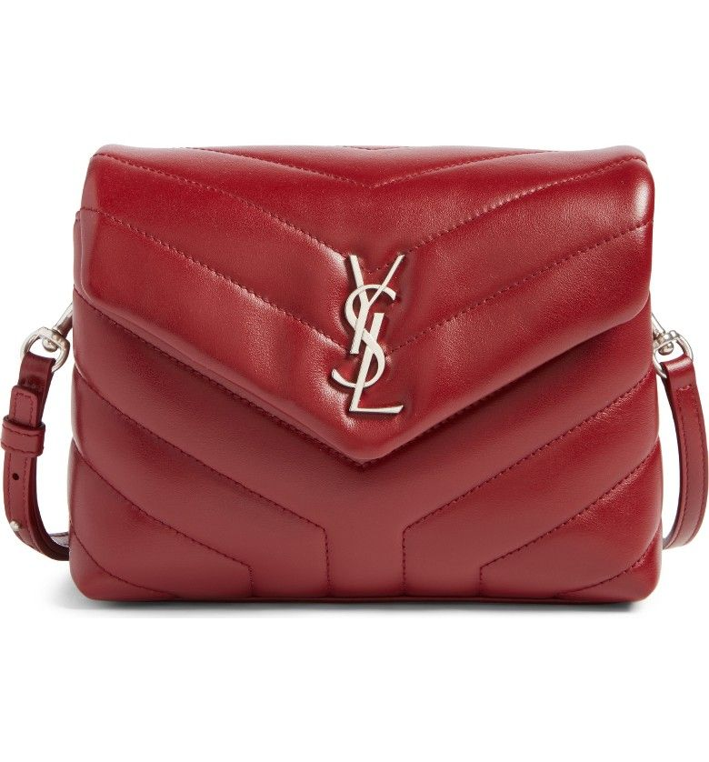 Main Image Saint Laurent Toy Loulou Calfskin Leather Crossbody Bag