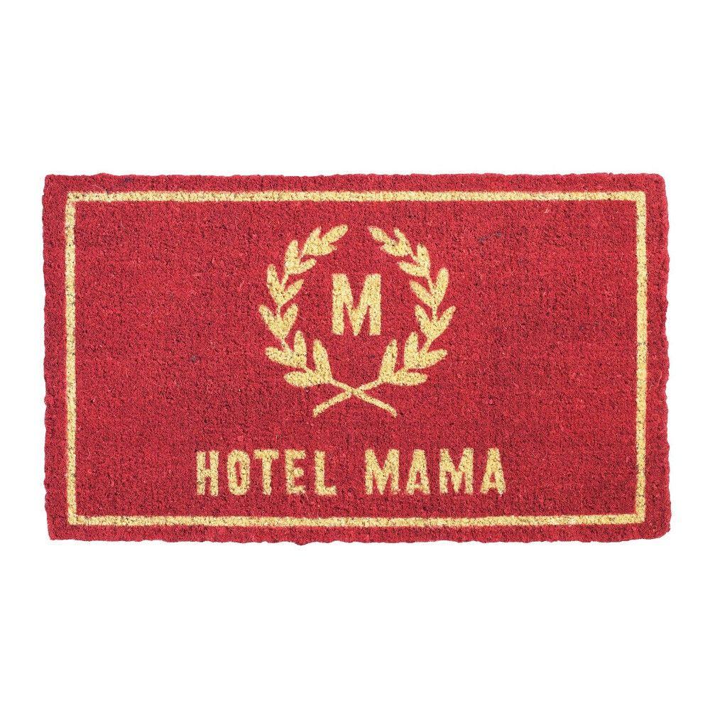 """Fußmatte """"Hotel Mama\"""