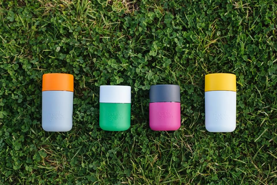 Frank Green Their Business Is The Design Creation And Sale Of Smartcups Which Are Quite Possibly The Most Bea Reusable Coffee Cup Coffee Cups Plastic Design
