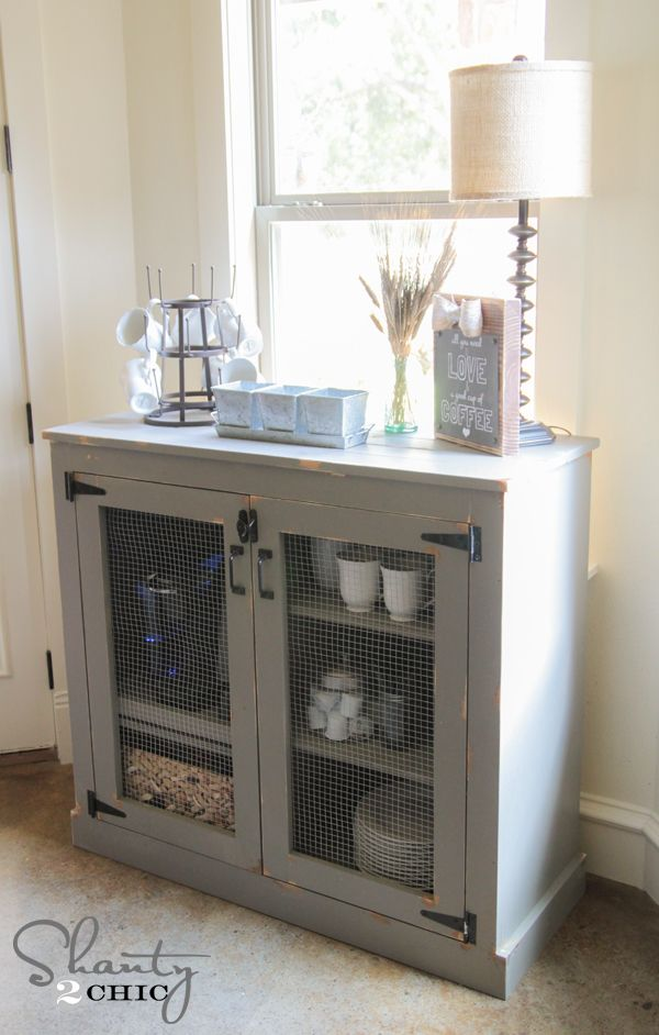 Coffee Cabinet Diy Steps Using K5 Kreg Jig