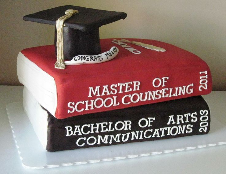 Masters Degree Cake Cute Idea Grad School Pinterest