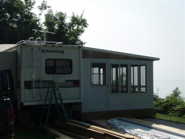 Room addition | Adding a room on to my camper | 5th wheel