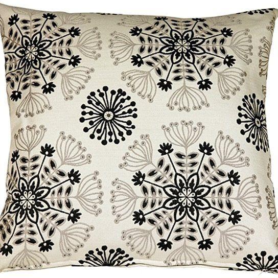Buy Pillow Decor Waverly Kaleidoscope Tuxedo 20x20 Throw Pillow By Pillow Decor On Dot Bo Decorative Pillows Dot And Bo Throw Pillows