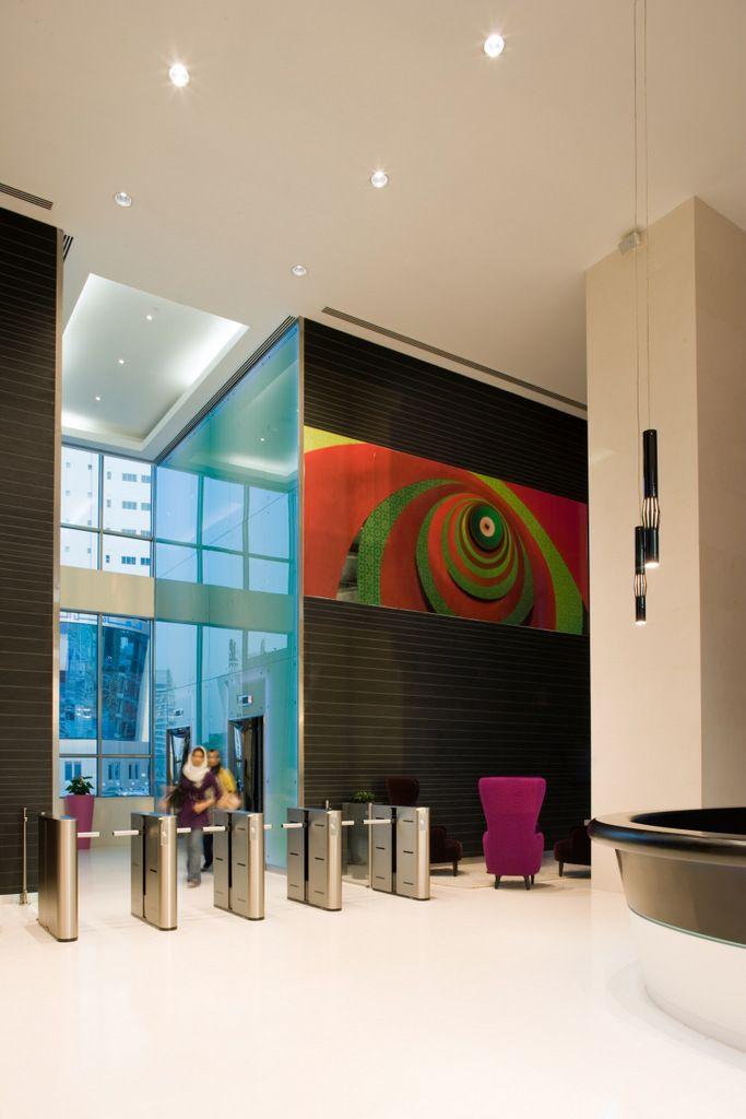 Telecommunication Room Design: Office Tour: Zain's Colorful Bahrain Headquarters Offices
