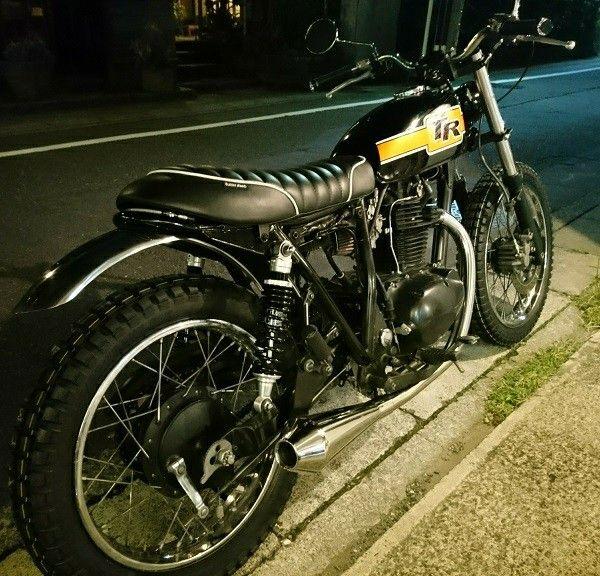 my custom kawasaki tr250 heart and soul on 2 wheels pinterest