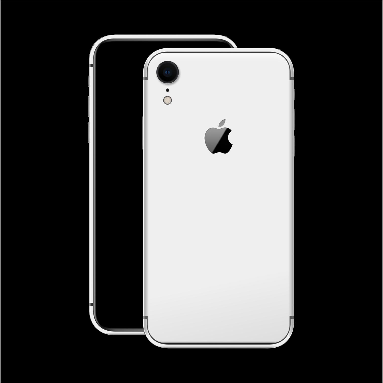 Iphone Xr Gloss Jet White Skin Iphone Jet White White Iphone