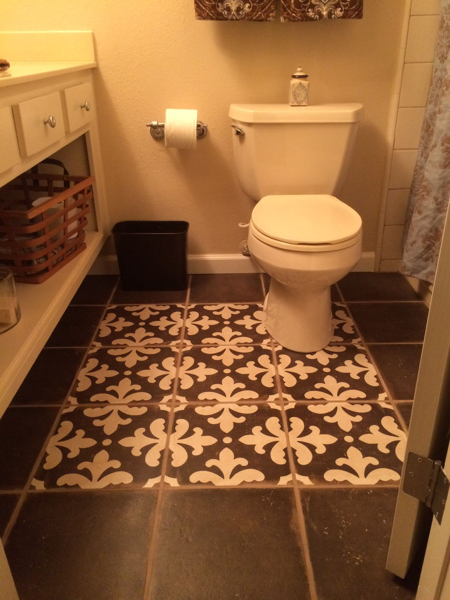 Surprising Cute New Bathroom Floor Tile Is Palazzo Antique Cotto In Alphanode Cool Chair Designs And Ideas Alphanodeonline