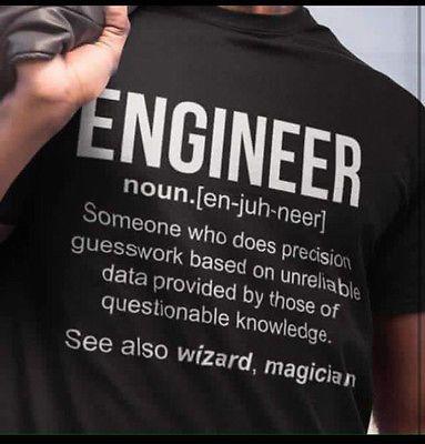 Demina Engineer Custom T Shirt Print Funny Engineer T Shirt Birthday Novelty View More On The Link Http Engineering Humor Engineering Engineering Memes