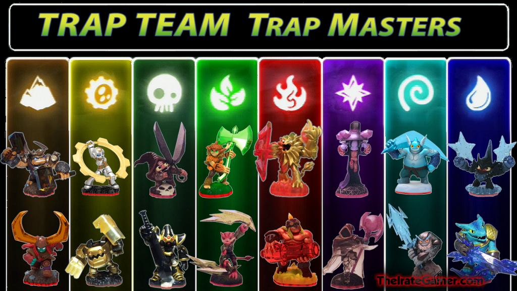 xbox 360 characters skylander trap team images | Skylanders Trap Team Trap  Masters FULL 16 Figure Checklist Character .
