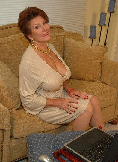 Busty mature enjoy