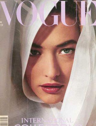 Tatjana Patitz - Vogue.