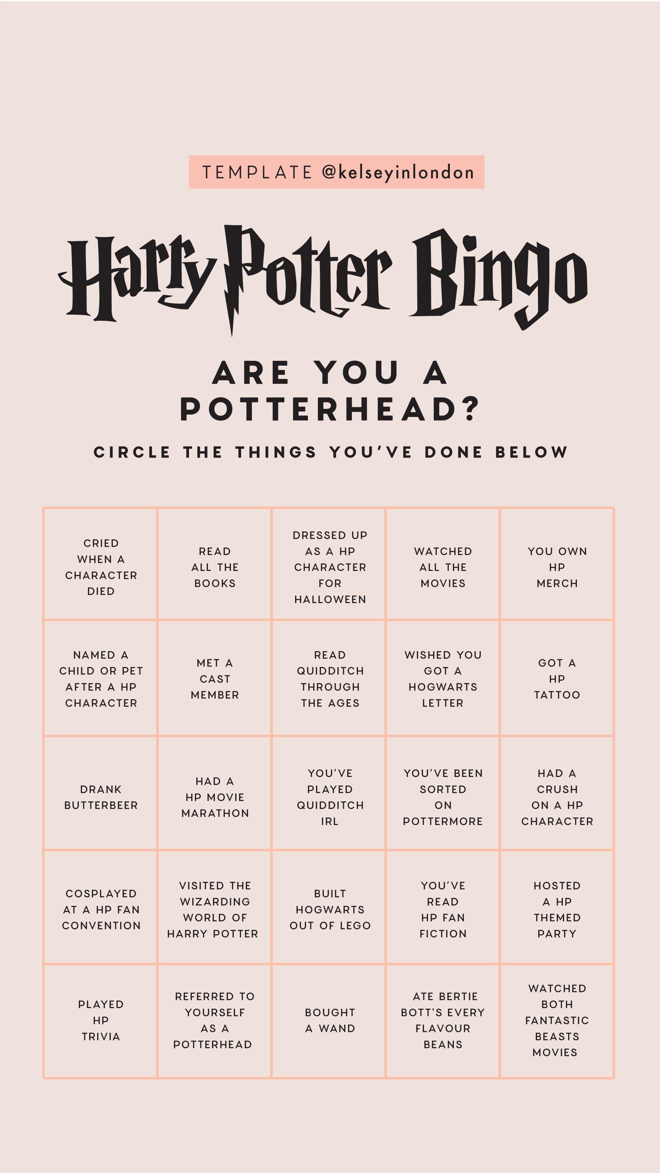 Instagram Story Templates Harry Potter Kelsey Henrichs Kelseyinlondon Harry Potter Bucket Lis Harry Potter Film Zitate Aus Harry Potter Harry Potter Fanfiction