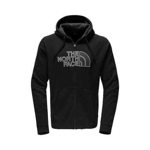 Men's The North Face Avalon Half Dome Full Zip Hoodie TNF /Asphalt Grey
