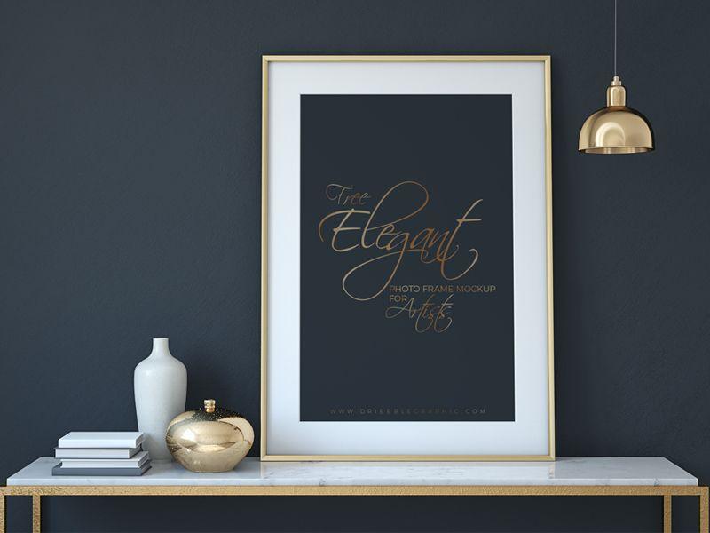 55+ Amazing Frame Mockups & Templates PSD | Designazure.com | Layout ...