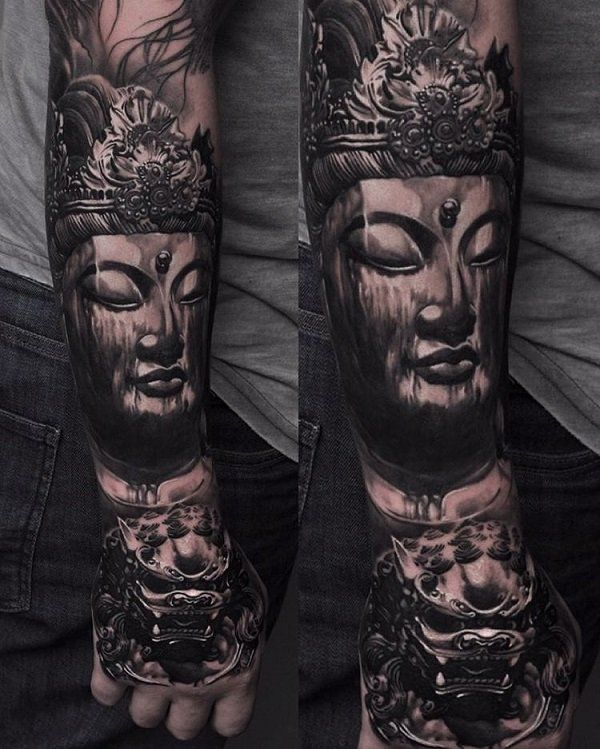 60 Inspirational Buddha Tattoo Ideas | Buddha tattoos ...