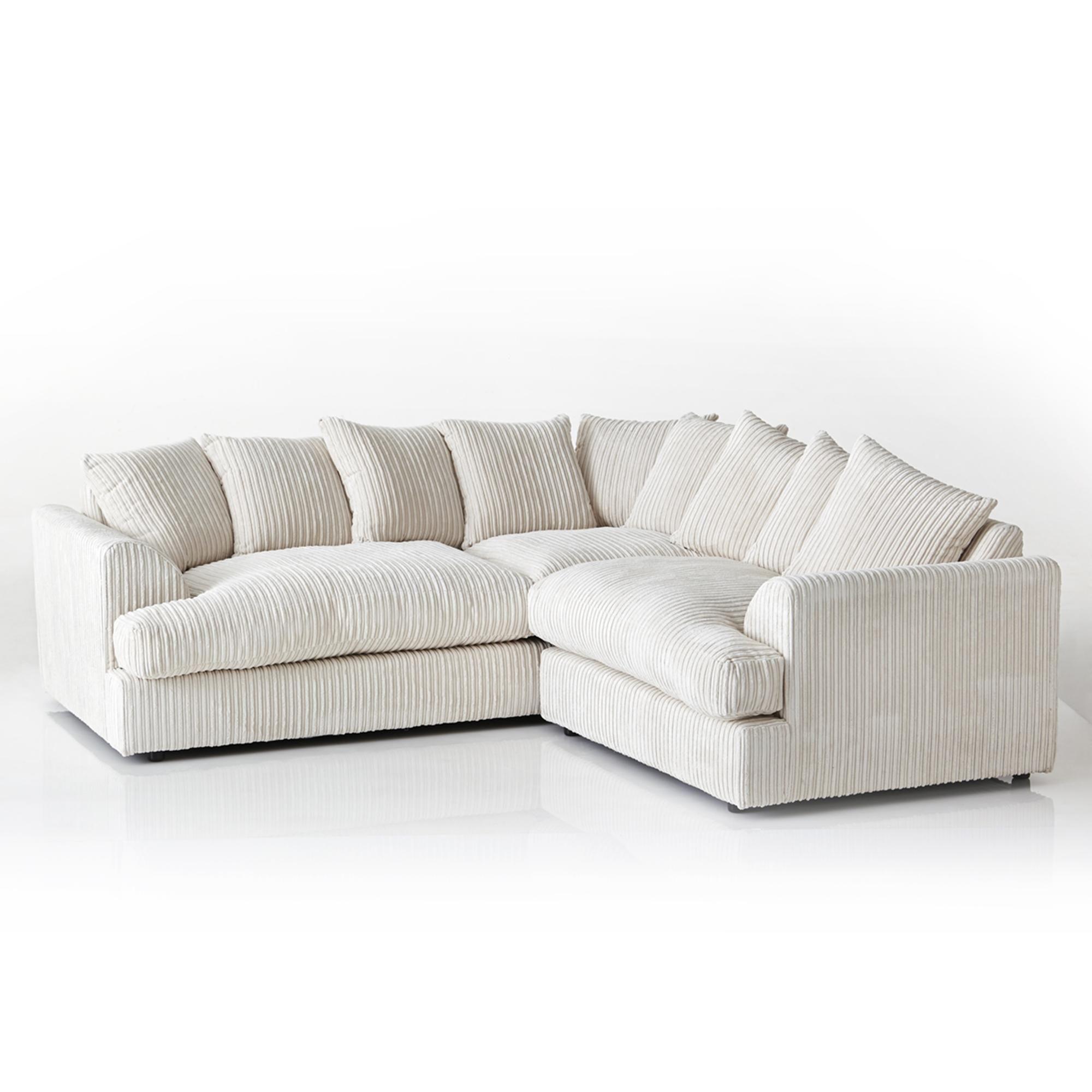 Dunelm Jasper In 2020 With Images Corner Sofa Sofa Cream Corner Sofa