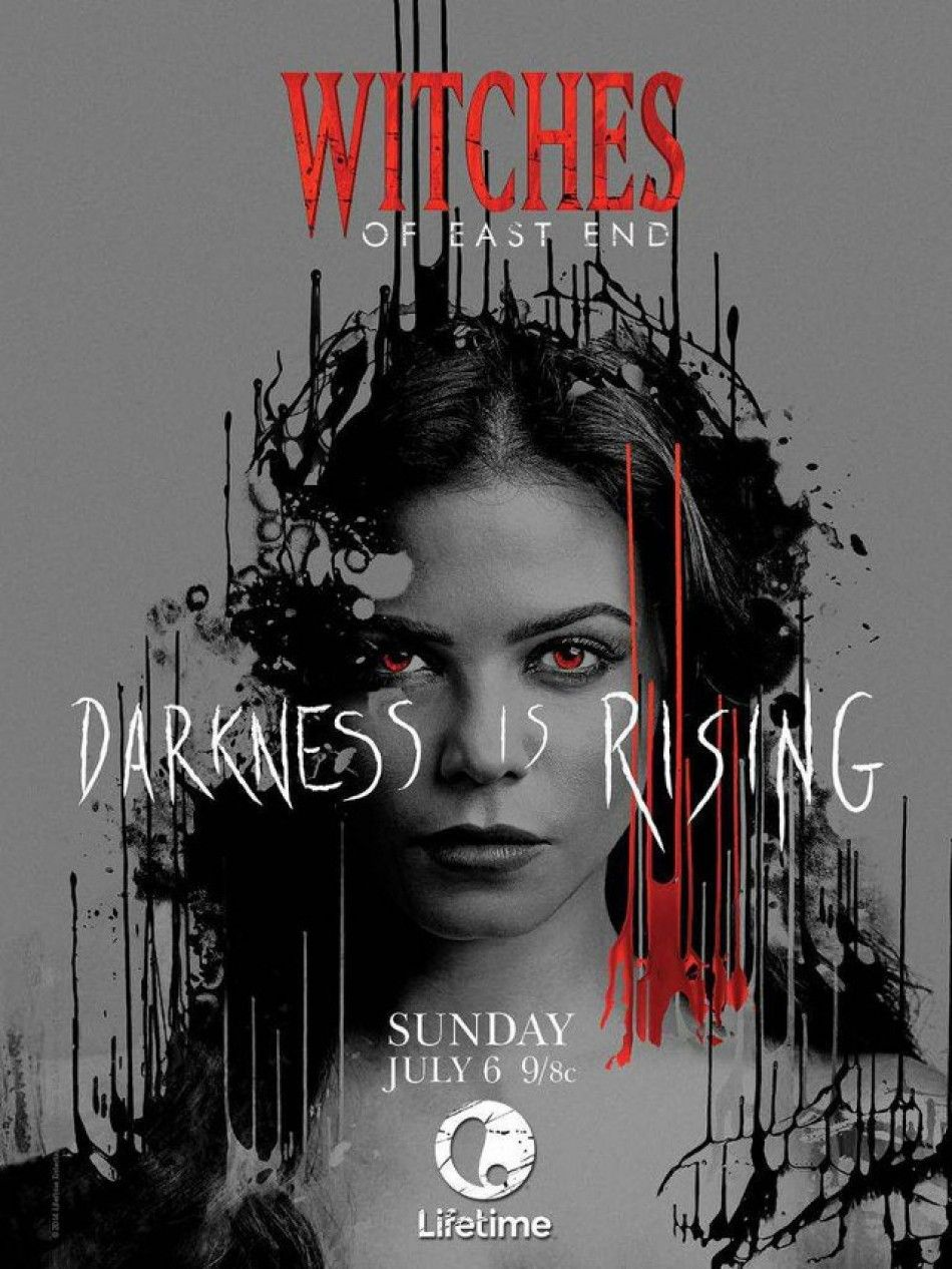 Witches Of East End Season 2 Bruxas Cartaz Bruxas De East End