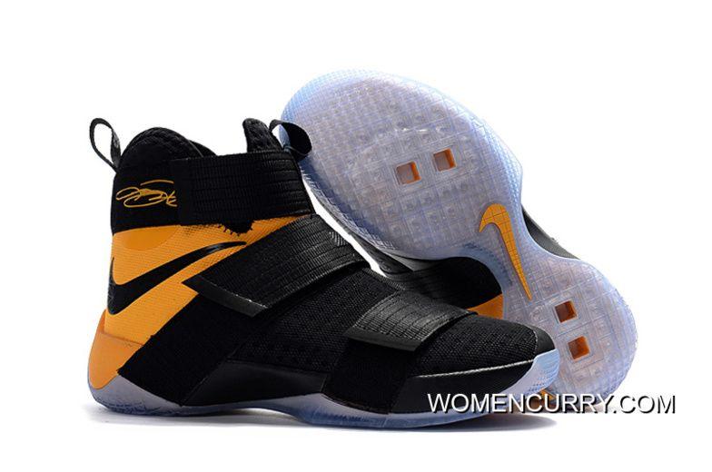 "564e2d62d3e Varsity Maize"" Nike LeBron Soldier 10 SFG Black Yellow Copuon Code ..."