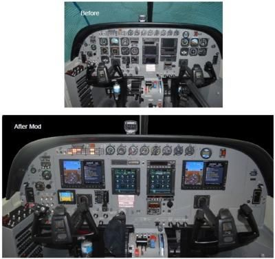 Cessna 208 Caravan Stc Used In Cockpit Upgrade And Redesign