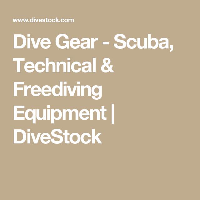 Dive Gear - Scuba, Technical & Freediving Equipment ...