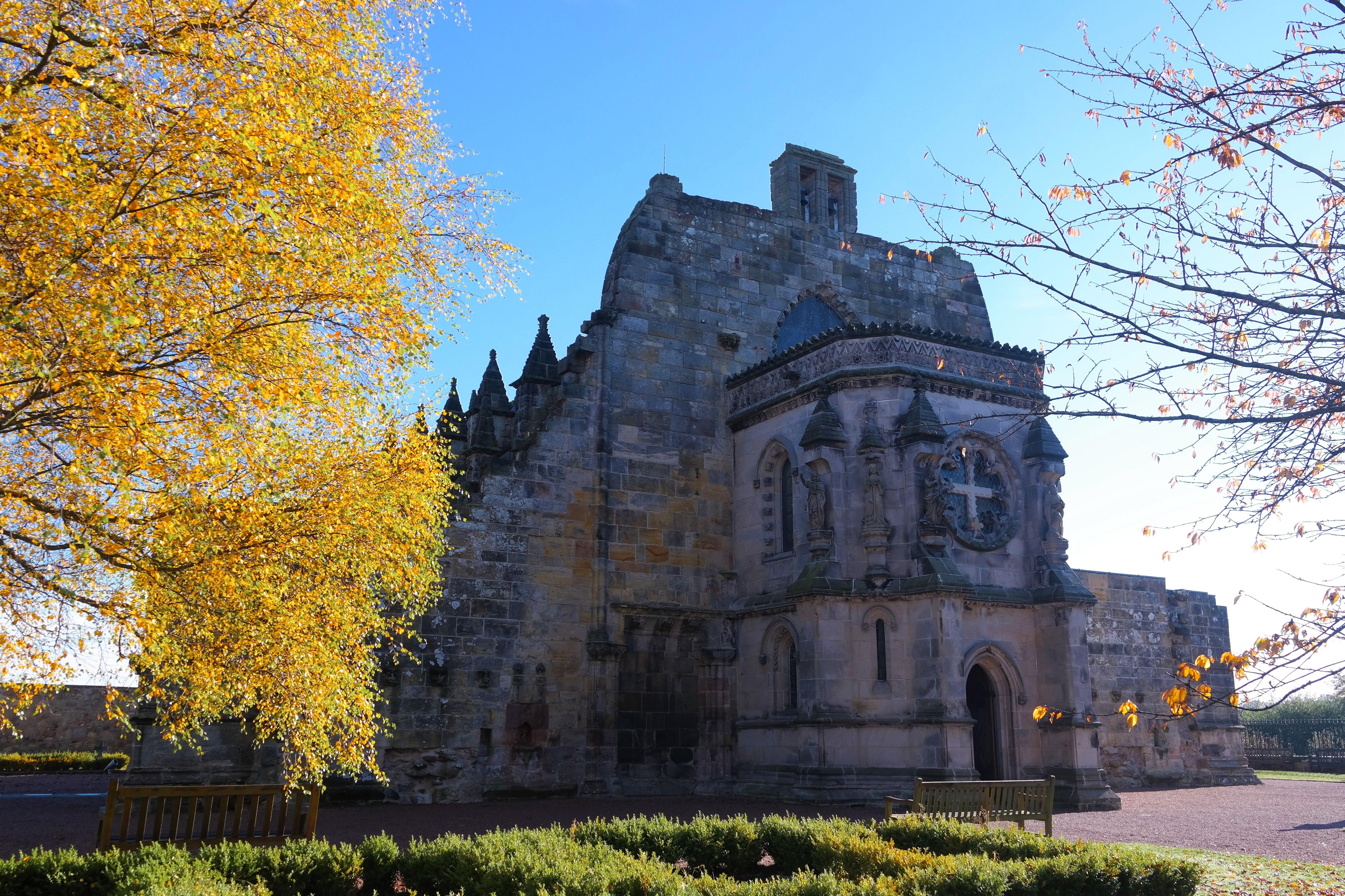 Rosslyn Chapel – TwoPassportsOnePen