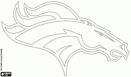 Pin By Eric West On Stencil Denver Broncos Logo Broncos Logo