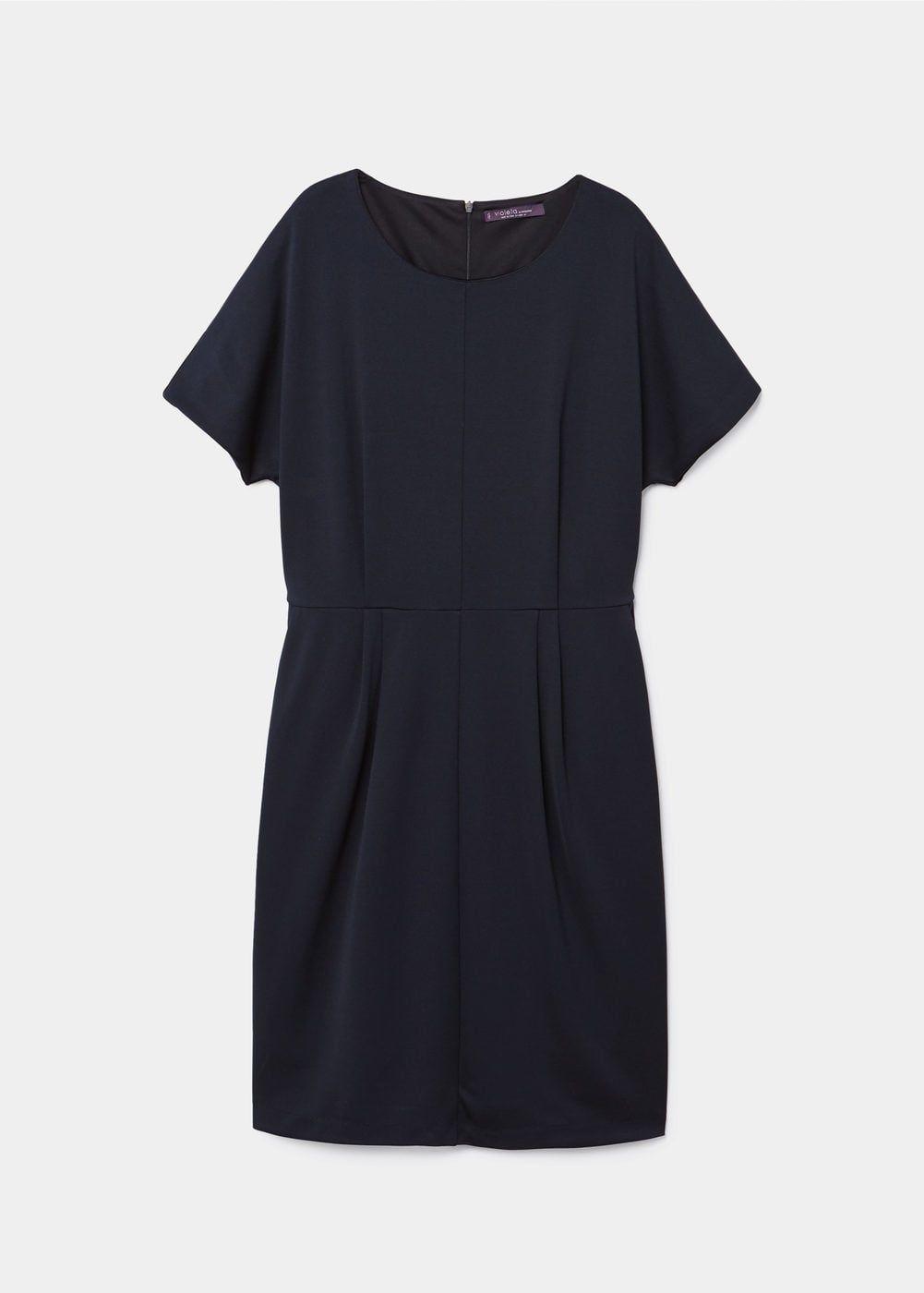 Decorative pleats dress - Dresses and jumpsuits Plus sizes