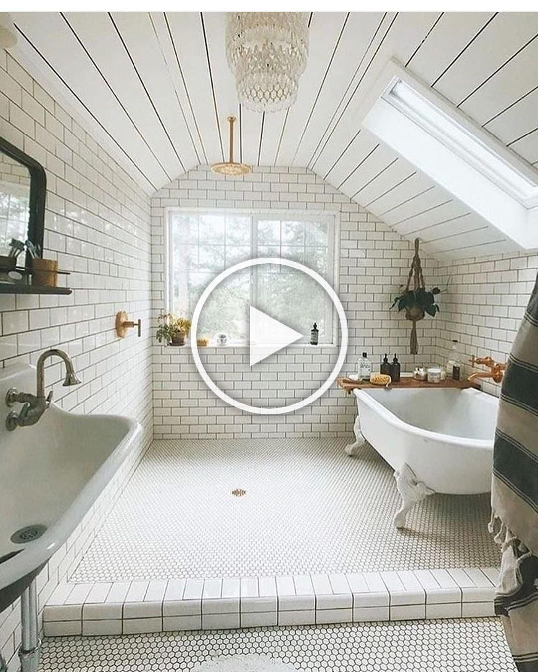50 Attic Bathrooms To Inspire Your Next Renovation Attic Bathroom Plumbing Attic Bathroom Sloped Ceiling Attic Bat In 2020 Bathroom Cost Attic Shower Bathroom Plumbing