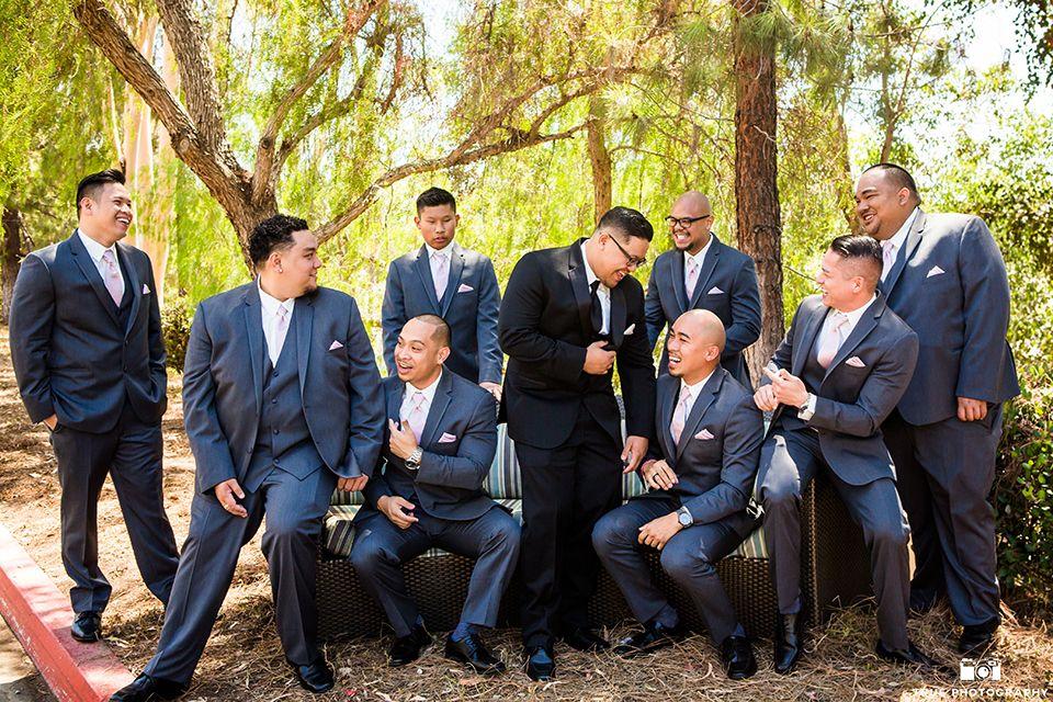 San diego wedding at carmel mountain ranch groom black notch lapel ...