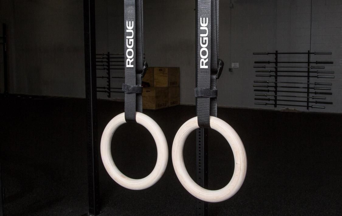 Rogue Wood Rings With Images Gymnastic Rings Gym Rings Wood Rings