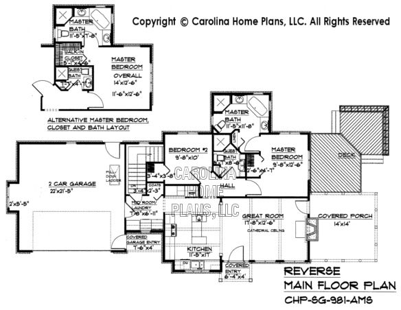 Small stone craftsman cottage house plan chp sg 981 ams sq for Affordable craftsman house plans