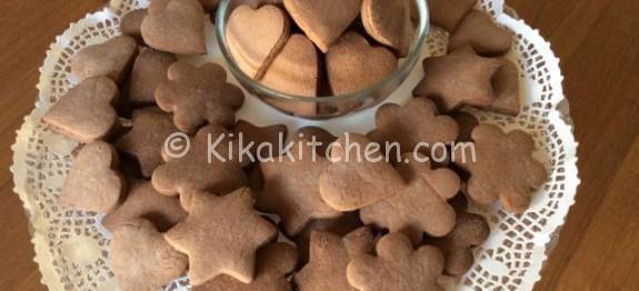 Biscotti con pasta frolla alla nutella | Kikakitchen