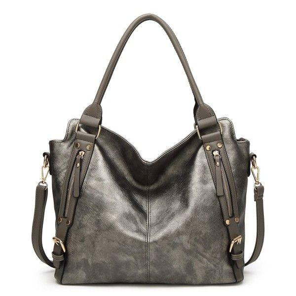 Women S Bags Satchel Shoulder Tote Bag Lady Messenger Purse Top Handle Hobo Handbags Gray Cj186me4y3n Womensbags Satchelbags