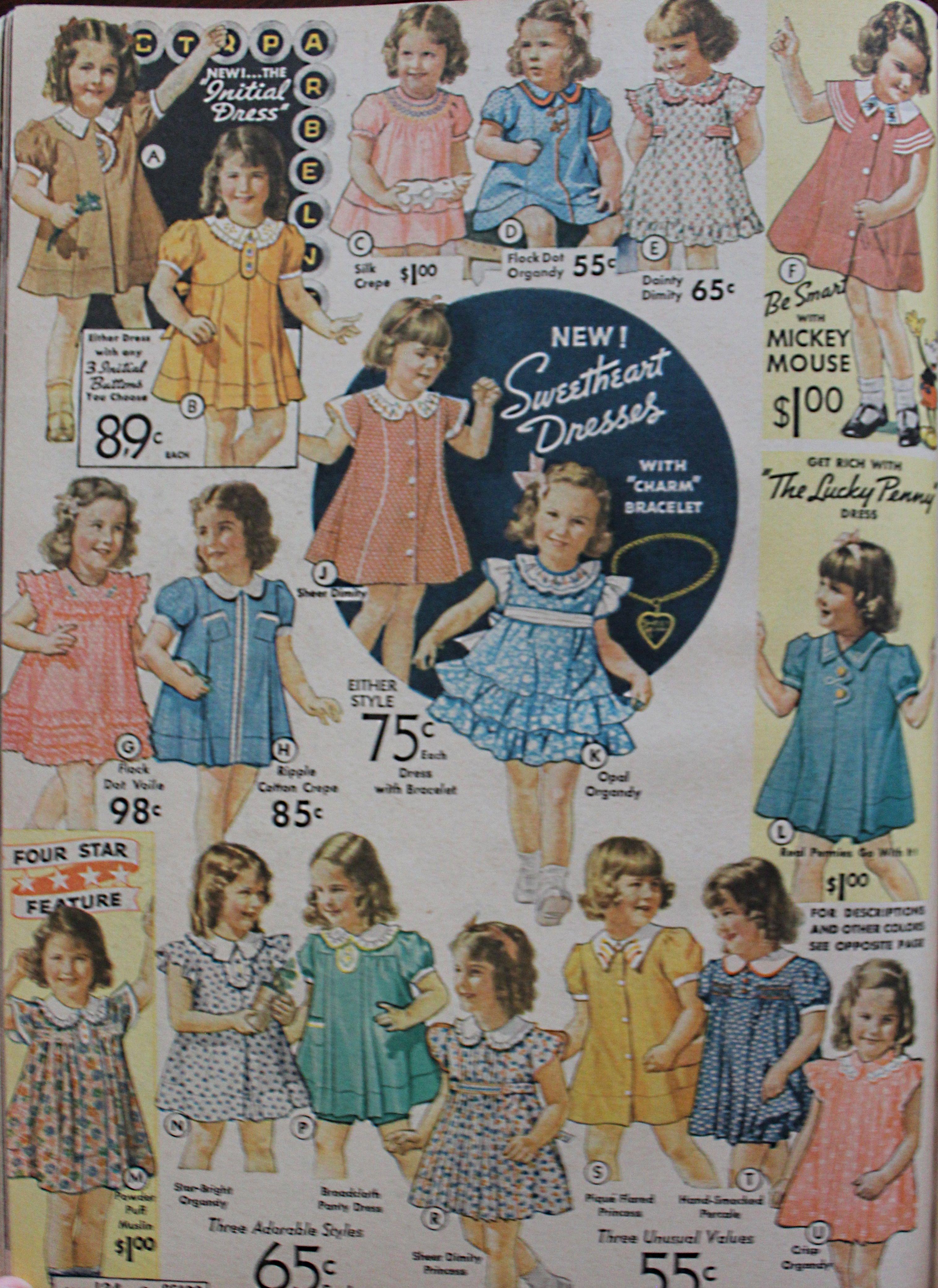 Vintage Style Children's Clothing: Girls, Boys, Baby ...
