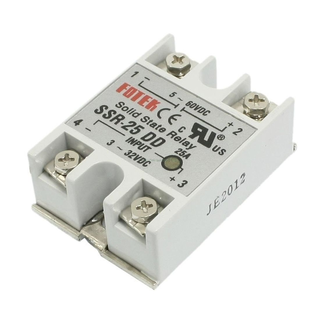 Imc Hot Ssr 25dd Single Phase Solid State Module Relay 25a Dc 5 60v Electrical Getting