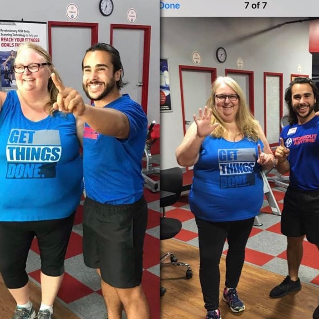 Ann From Duval Station In 6 Months I Lost Over 30 Inches In My Torso Just From Working Out Things I Realized I Can Anytime Fitness Going To The Gym Workout